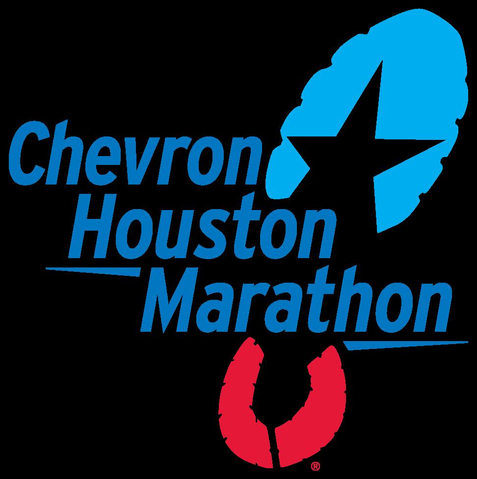 chevron houston marathon logo